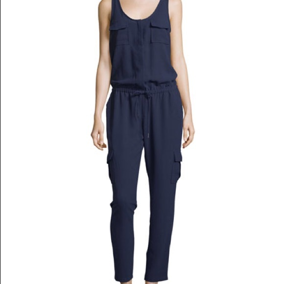 2817754eddb NWT Joie Vernay Jumpsuit in Dark Navy